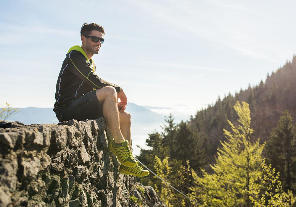 На трекинг с мъжки спортно-туристически обувки Dachstein Delta Pace GTX Mud Green