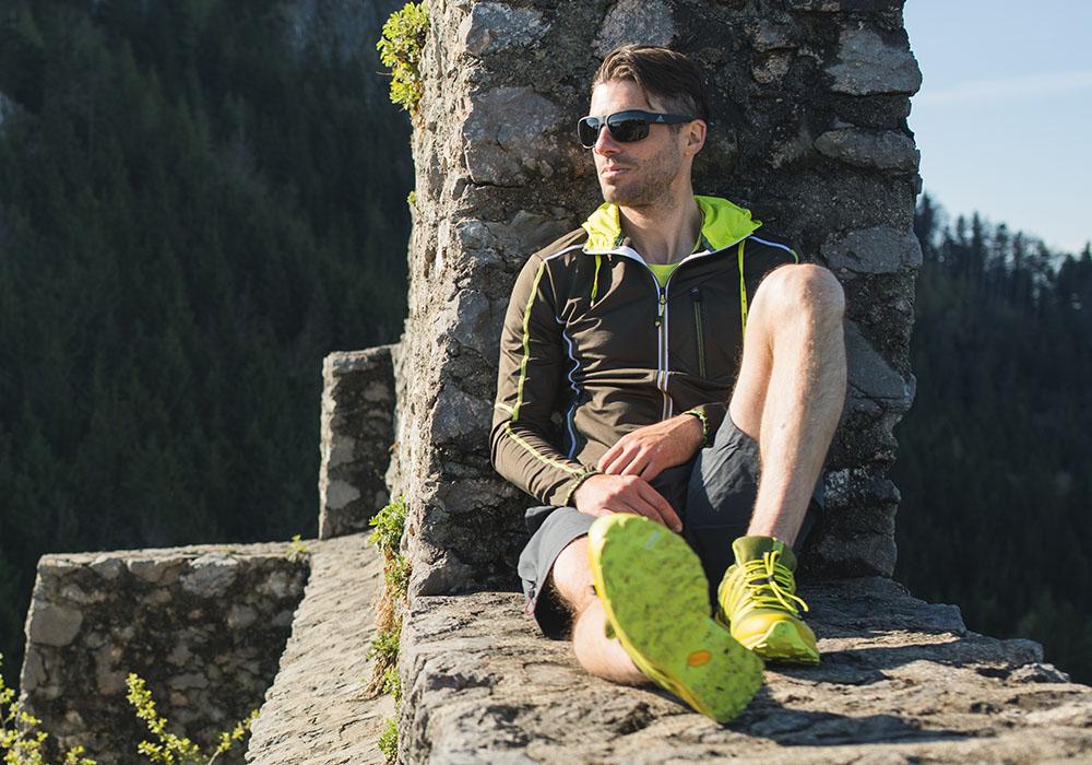 Relax след хайкинг спортно-туристически обувки Dachstein Delta Pace GTX Mud Green