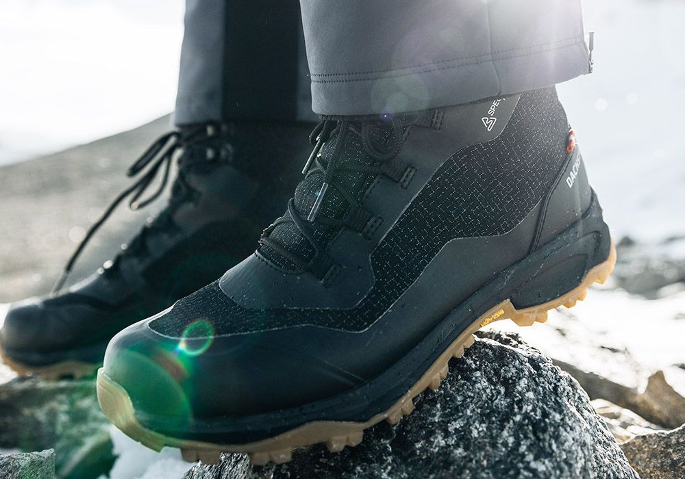 Мъжки туристически зимни обувки Dachstein SP-02 GTX Black 2021