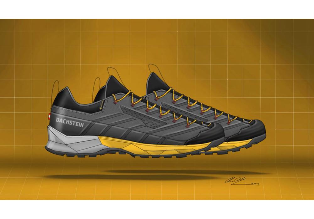 Дизайн на туристически обувки Dachstein SF-21 GTX Anthracite 2021