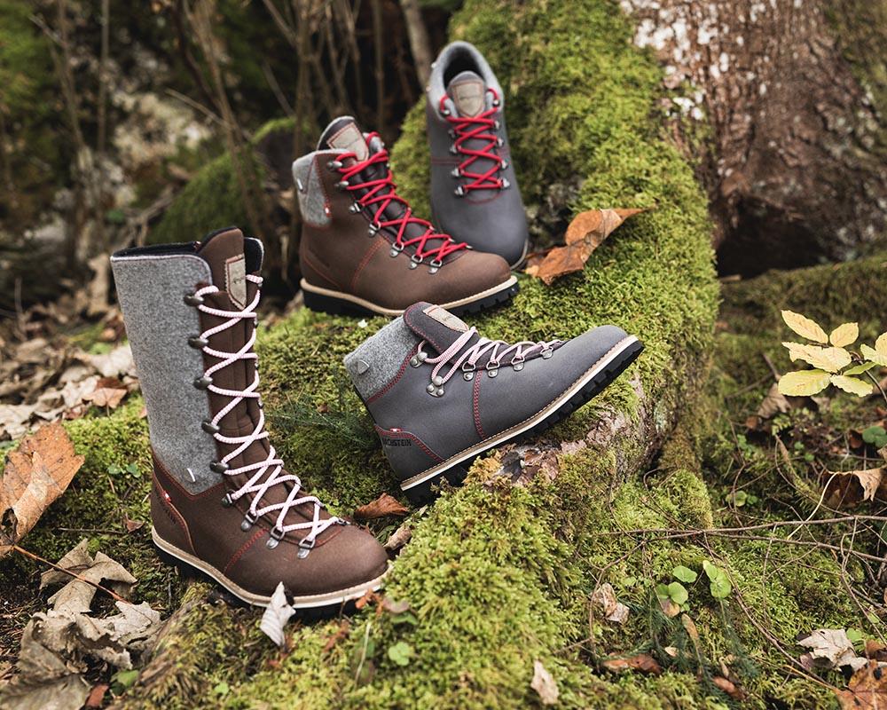 Колекция от кожени обувки Dachstein есен - зима 2017