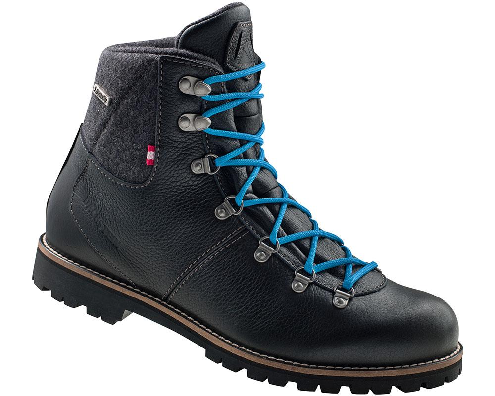Мъжки туристически кожени обувки Dachstein Gebirgsjäger Black