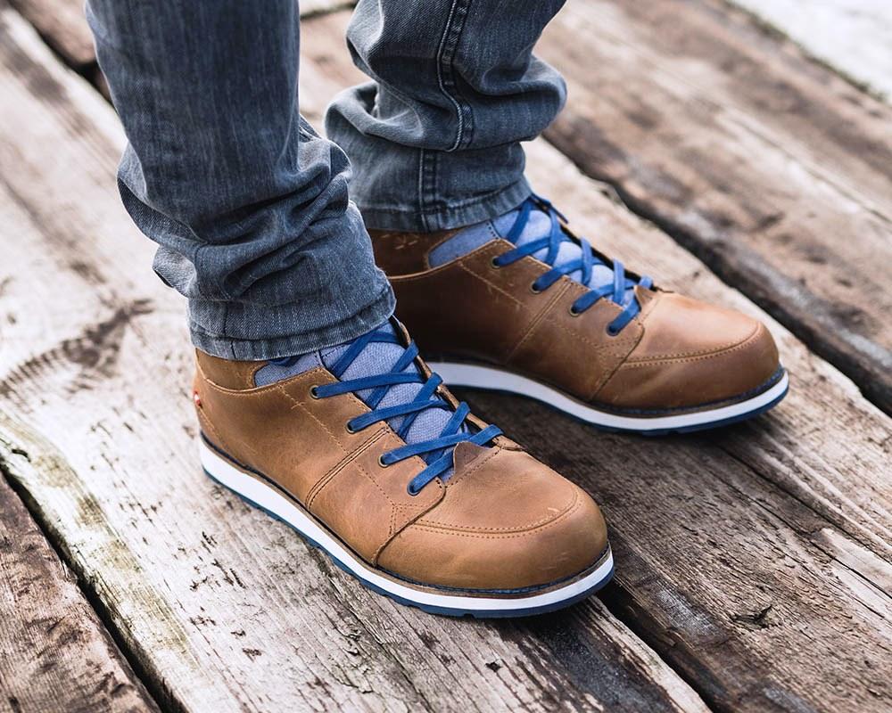 Мъжки кожени обувки за града Dachstein Hubert GTX Sunny Brown 2019
