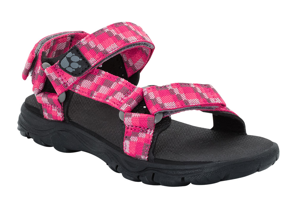 Детски туристически сандали Jack Wolfskin Seven Seas 2 Girl Tropic Pink 2019