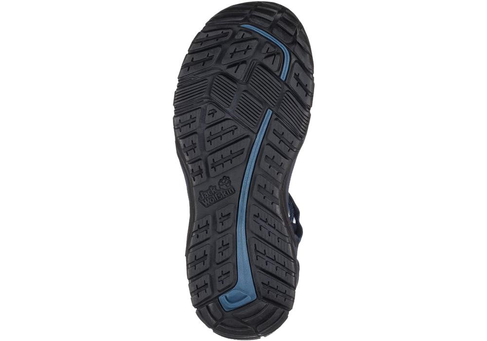Подметка на мъжки туристически сандали Jack Wolfskin Lakewood Ride Night Blue 2019