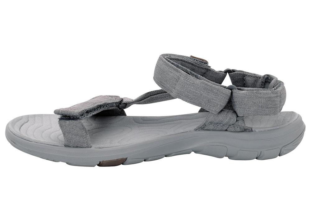 Вътрешен профил на дамски туристически сандали Jack Wolfskin Seven Seas 2 Tarmac Grey 2019