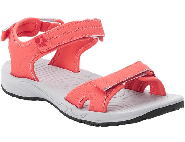 Jack Wolfskin Lakewood Cruise Women Sandals Rose / Grey 2021