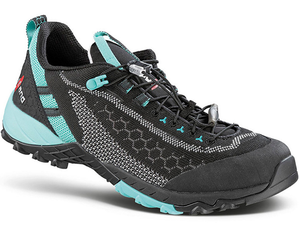 Kayland Alpha Knit WS Women's Fast Hiking Shoes Black Azure 2021