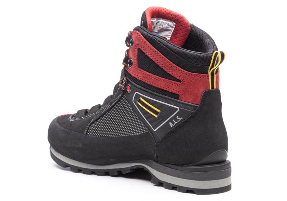 Back inner Kayland Cross Mountain GTX Red Men's Backpacking Boots 2021