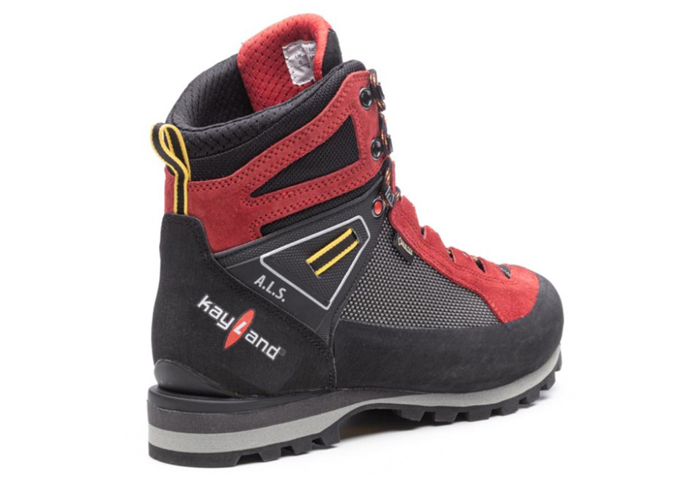 Outter side Kayland Cross Mountain GTX Red Men's Backpacking Boots 2021