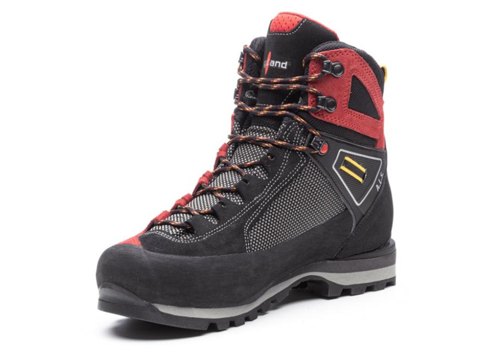 Inner front Kayland Cross Mountain GTX Red Men's Backpacking Boots 2021