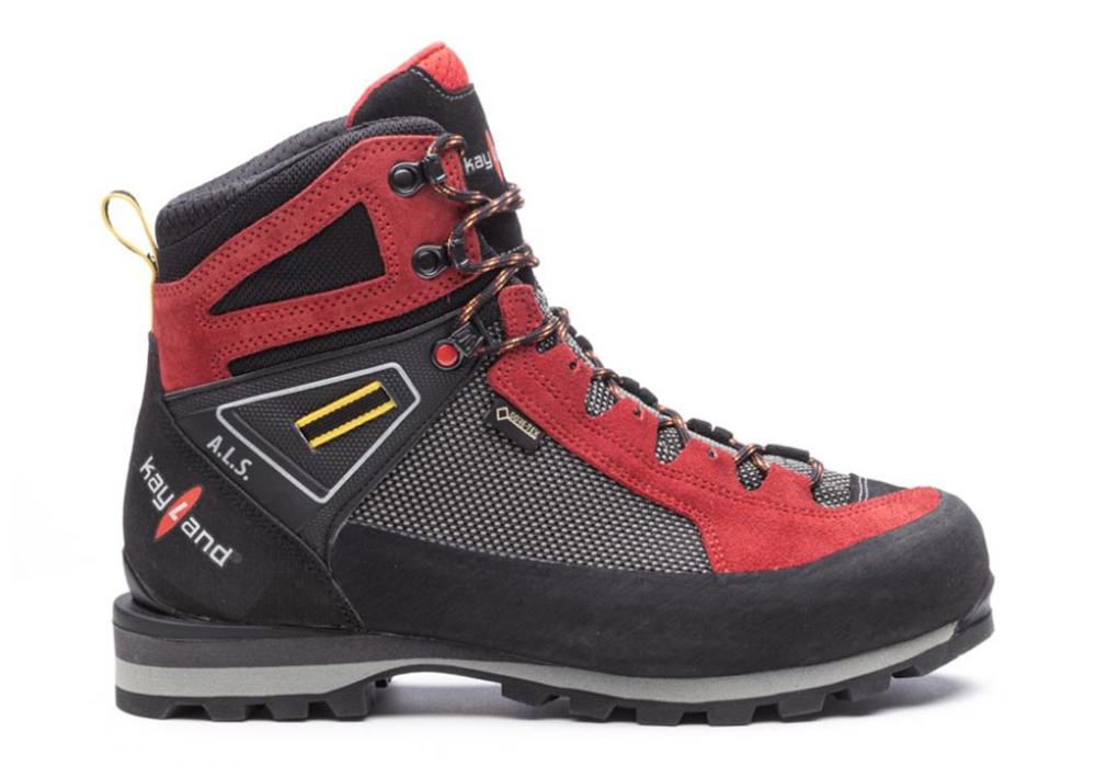 Side Kayland Cross Mountain GTX Red Men's Backpacking Boots 2021
