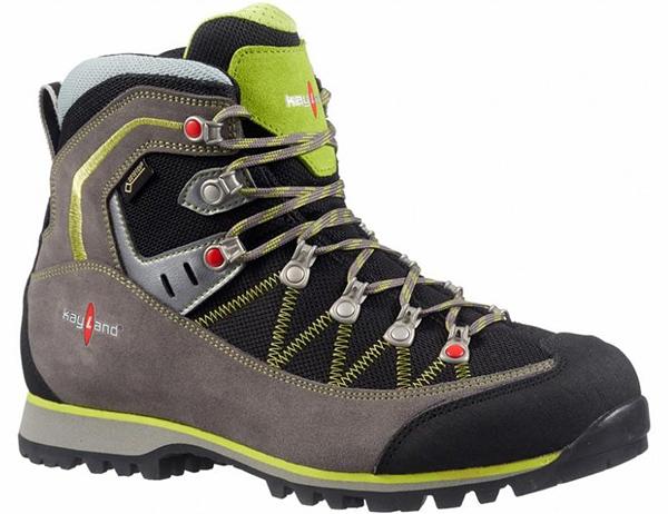 Мъжки туристически обувки Kayland Plume Micro GTX Grey Lime 2021