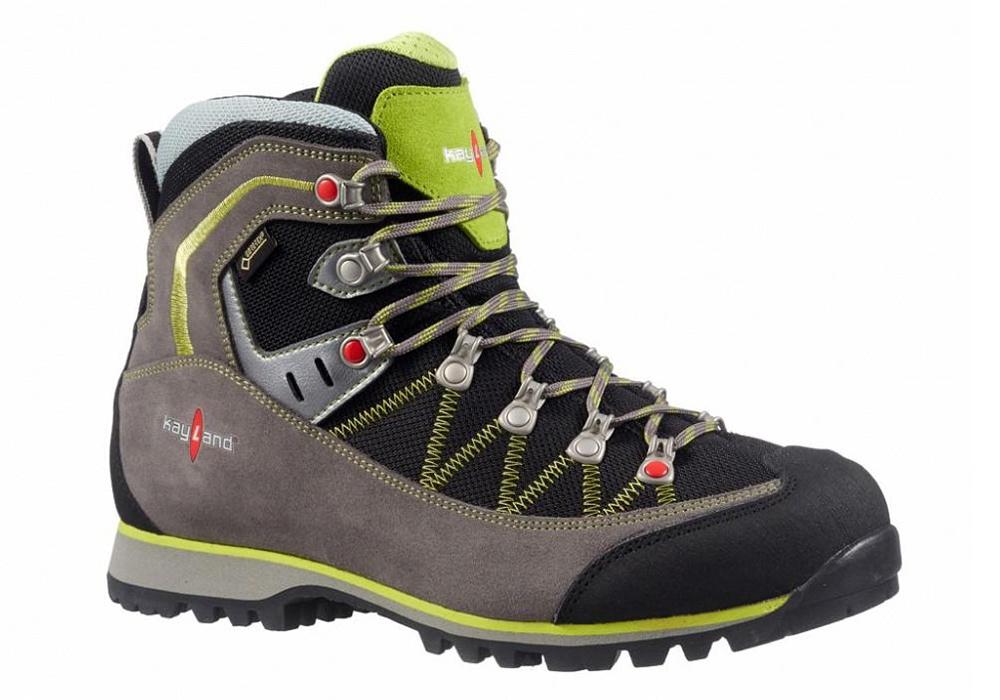 Kayland Plume Micro GTX Grey Lime Hiking Boots 2021