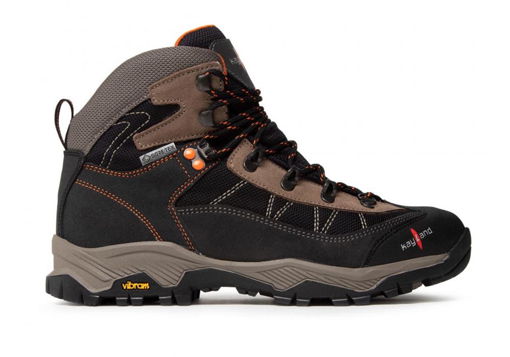 Inside Kayland Taiga GTX Black Orange Men's Hiking Boots 2021