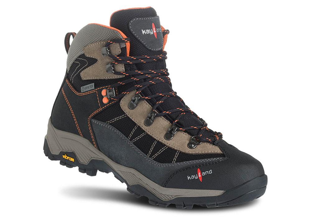 Kayland Taiga GTX Black Orange Men's Hiking Boots 2021