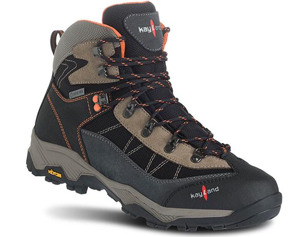 Мъжки туристически обувки Kayland Taiga GTX Black Orange 2021