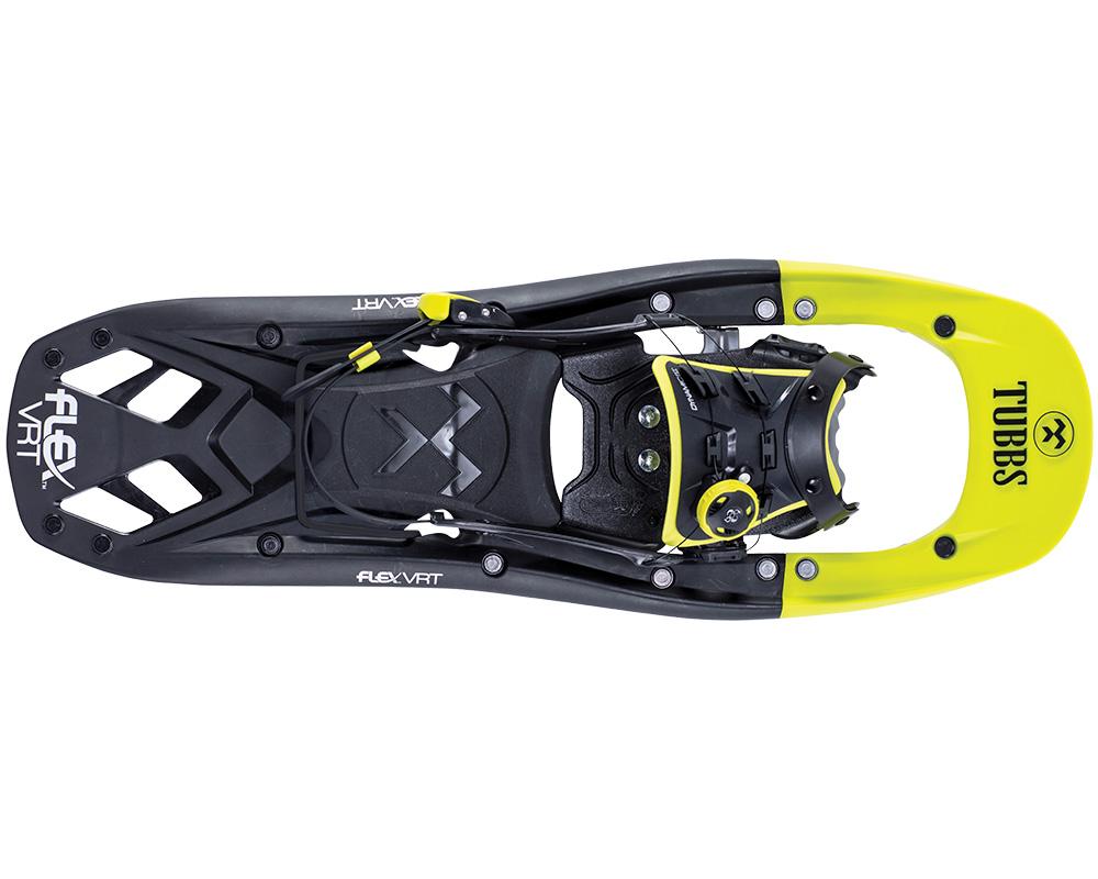 Поглед отгоре на снегоходки Tubbs Flex VRT 24 модел 2018