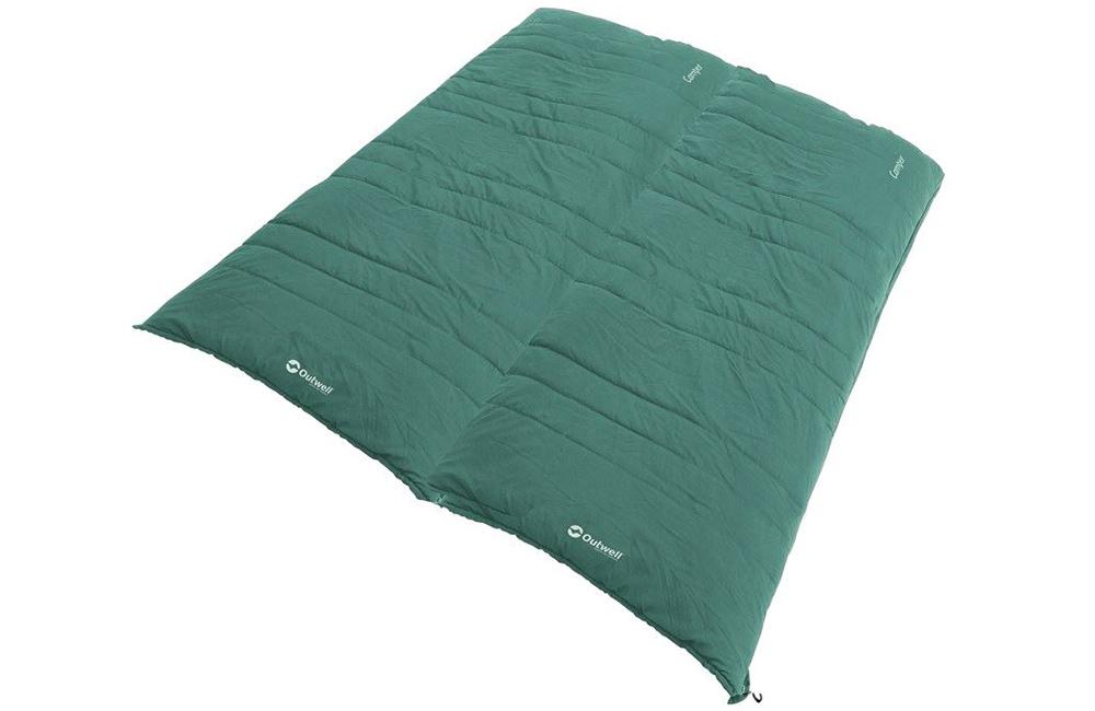 Отваря се като завивак спален чувал Outwell Camper Supreme модел 2021