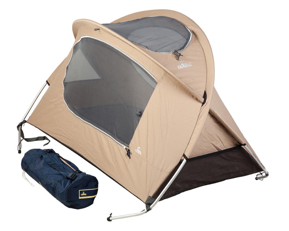 Комплект детскa кошара със самонадуваема постелка 3.8 cm Nomad Kids Travel Bed Cotton