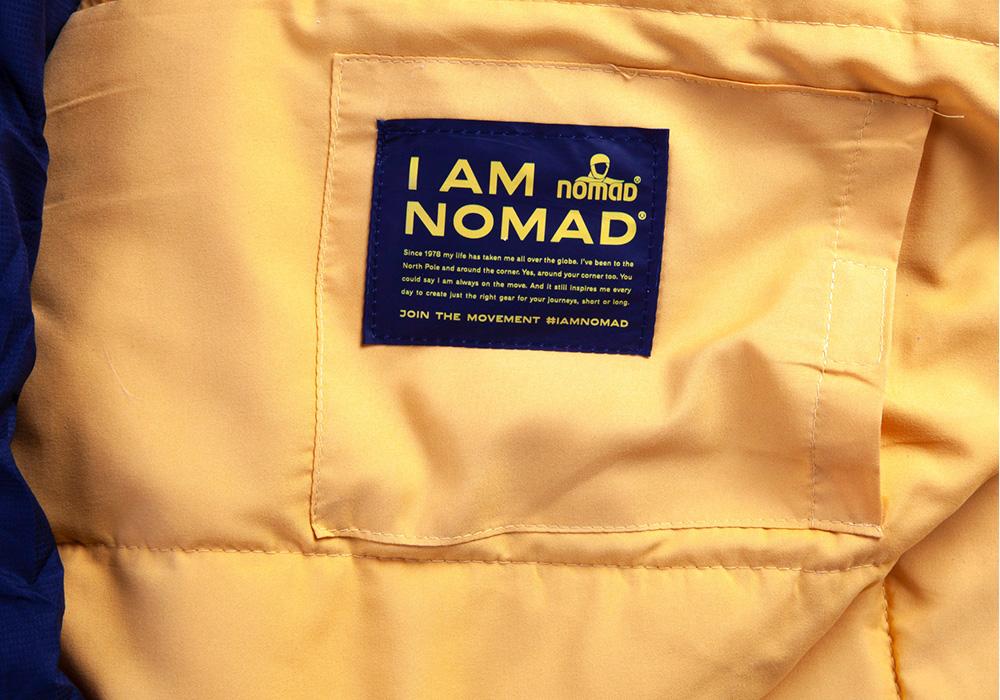 Вътрешен джоб на спален чувал Nomad Inca 1200 2021