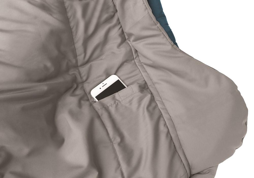 Inside pocket Robens Spire II Sleeping Bag 2021