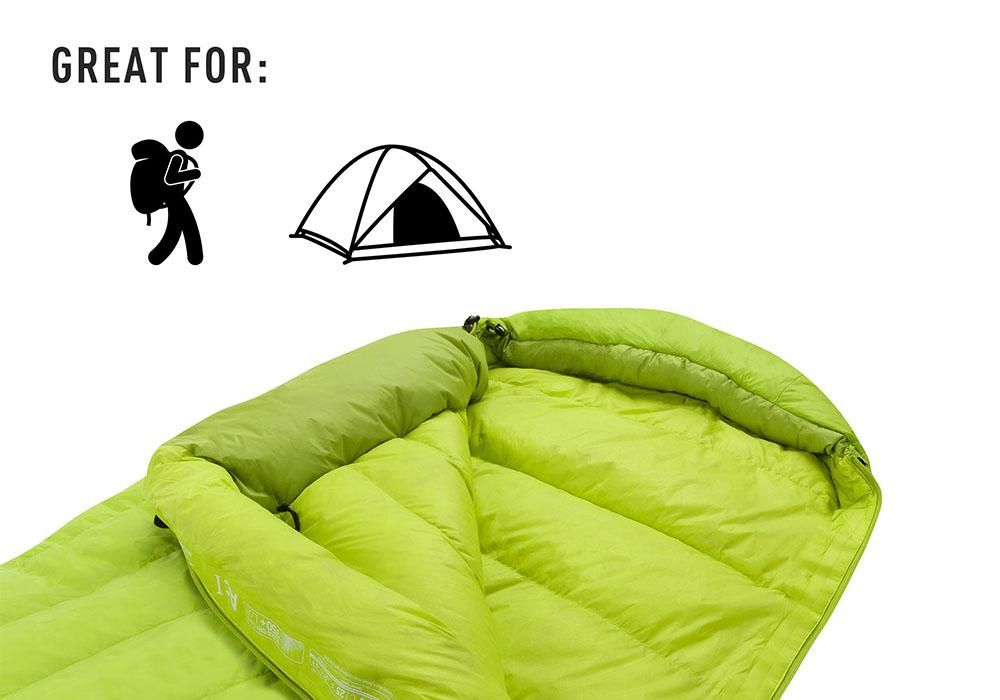 Перфектен за backpacking спален чувал Sea to Summit Ascent AcII - Regular 2020