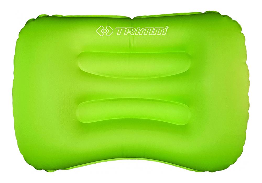 Зелена надуваема къмпинг възглавница Trimm Rotto 2021