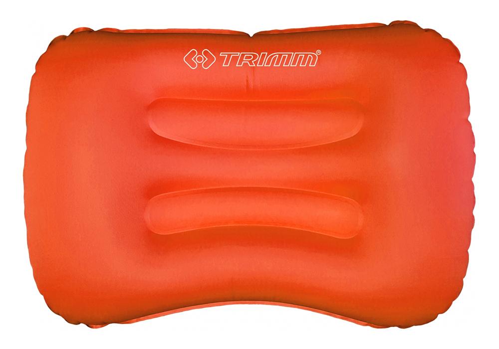 Оранжева надуваема къмпинг възглавница Trimm Rotto 2021