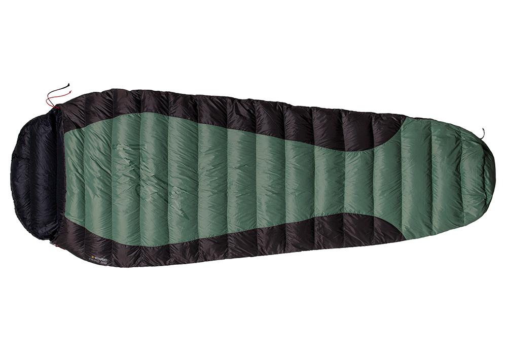 Пухен спален чувал Warmpeace Viking 300 Green / Grey 2020