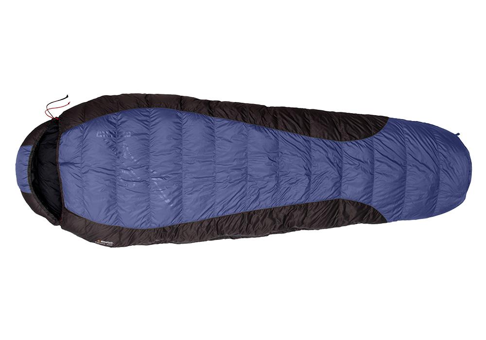 Пухен спален чувал Warmpeace Viking 600 Shadow Blue / Grey 2020