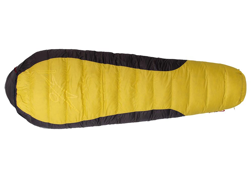 Пухен спален чувал Warmpeace Viking 1200 Yellow / Grey 2020
