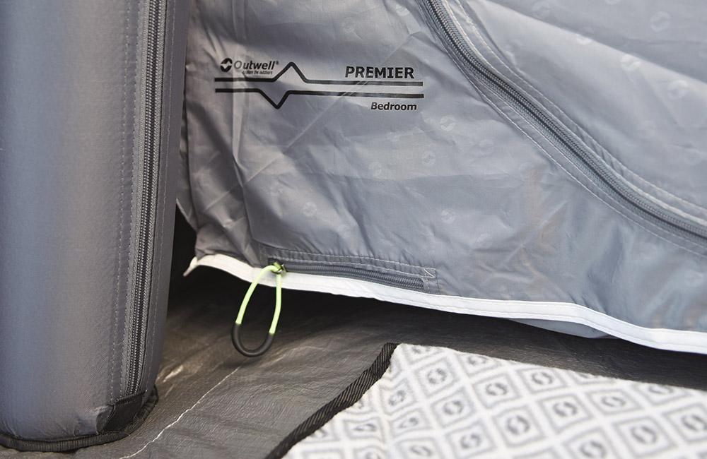 Premier спално помещение на Надуваема палатка Outwell Bayfield 5A модел 2018