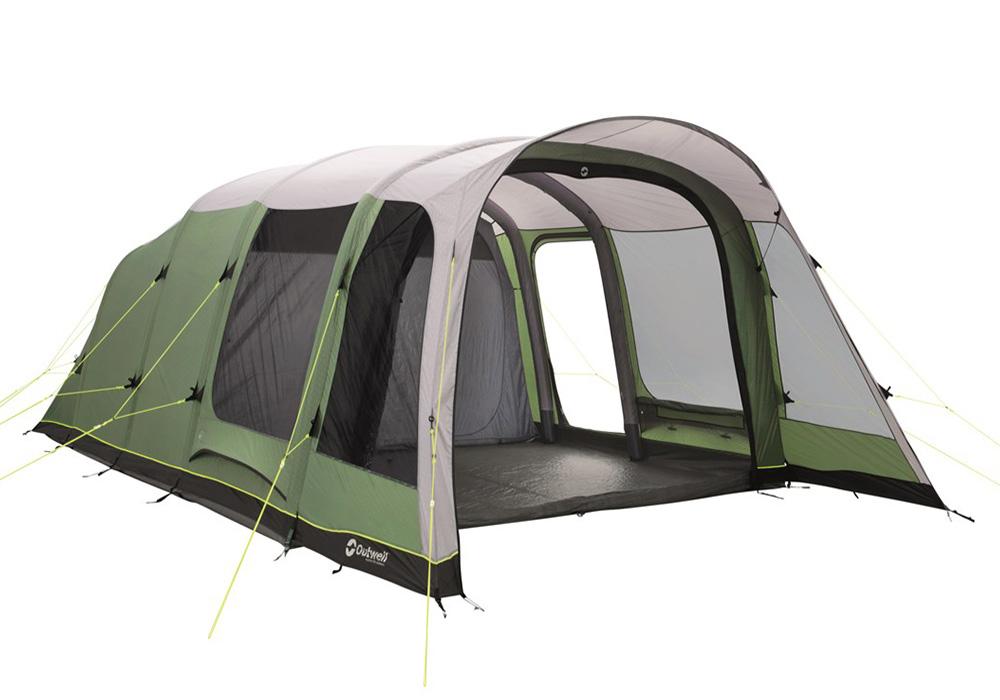 Шестместна надуваема палатка Outwell Broadlands 6A 2019