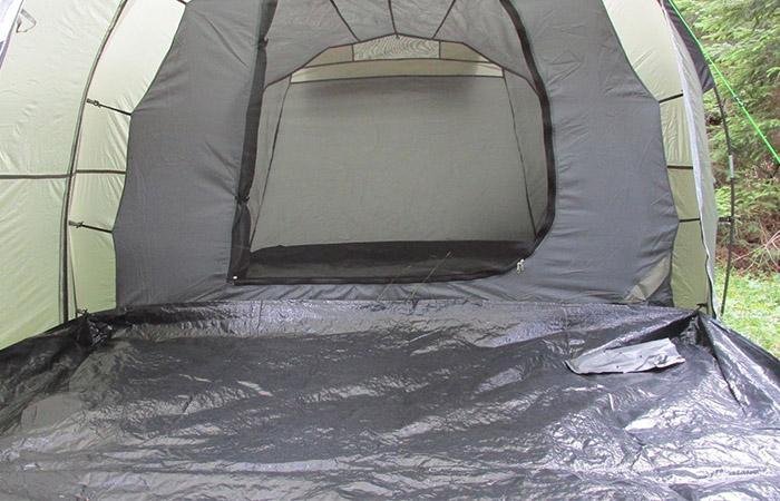 под на палатка