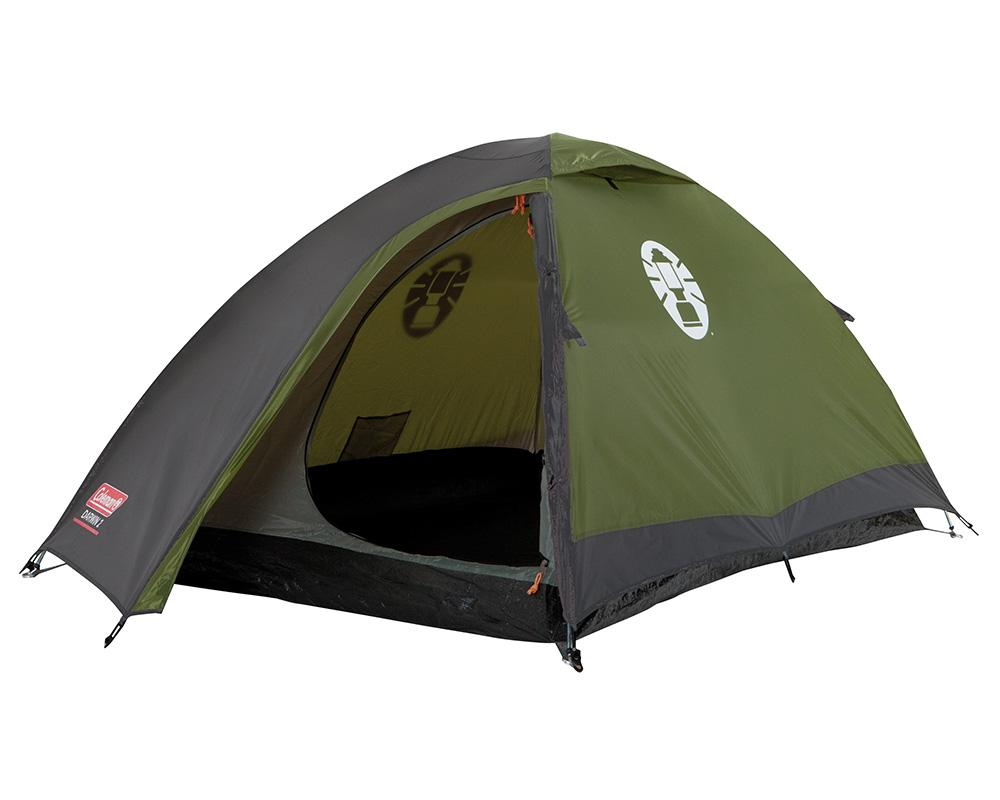 Туристическа двуместна палатка Coleman Darwin 2 отворена