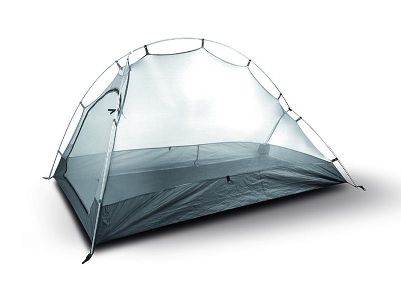 вътрешност на палатка