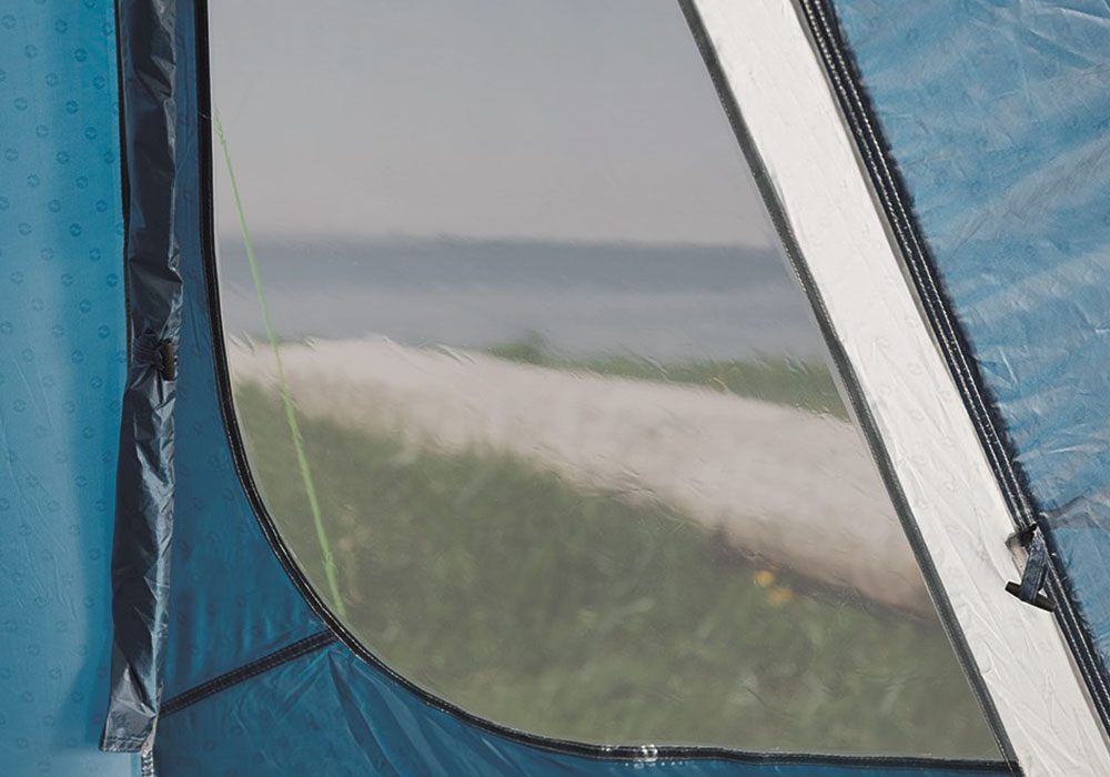Страничен вход н петместна палатка Outwell Earth 5