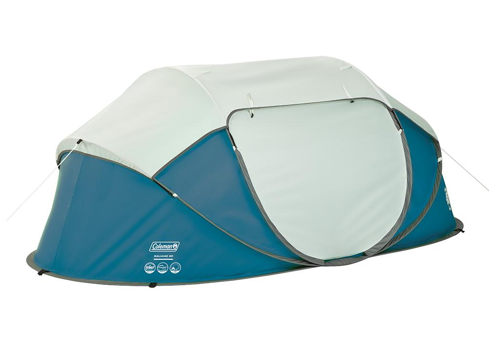 Затворена двуместна палатка Coleman Galiano 2 Pop Up Blue 2020