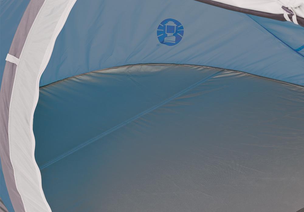 Спално помещение на двуместна палатка Coleman Galiano 2 Pop Up Blue 2020