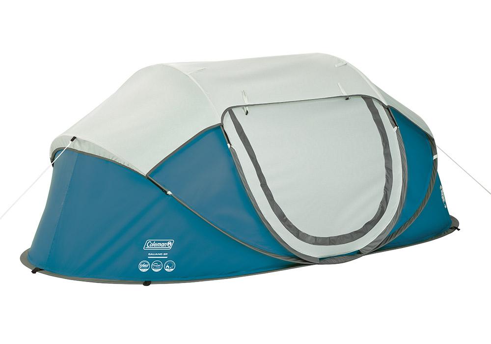 Двуместна палатка Coleman Galiano 2 Pop Up Blue 2020