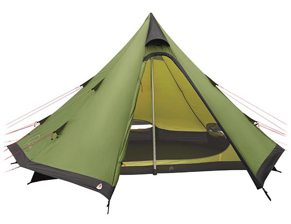 Четириместна типи палатка Robens Green Cone