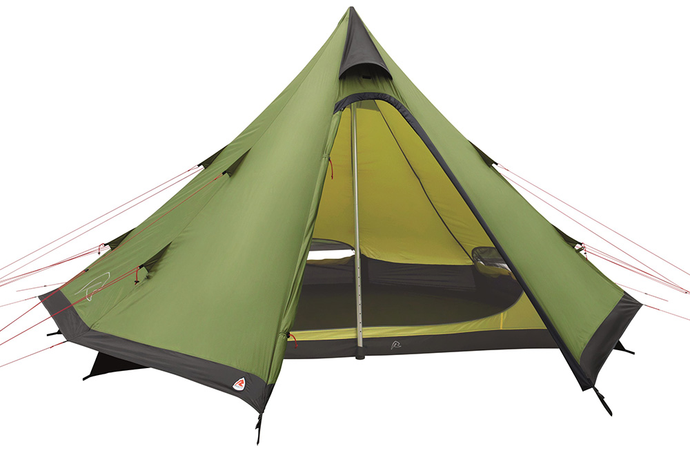 Четириместна туристическа типи палатка Robens Green Cone модел 2018