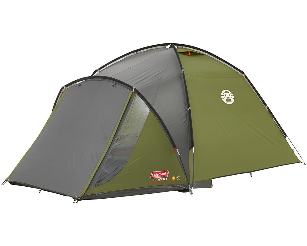 Палатка Coleman Hayden 4 2018 затворена