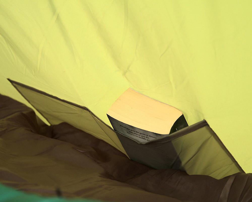 Джобове за съхранение на принадлежности палатка Coleman Hayden 4