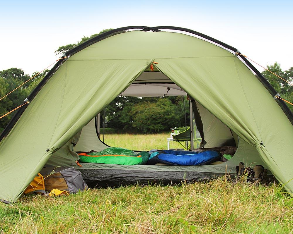 Отворени входове палатка Coleman Hayden 4