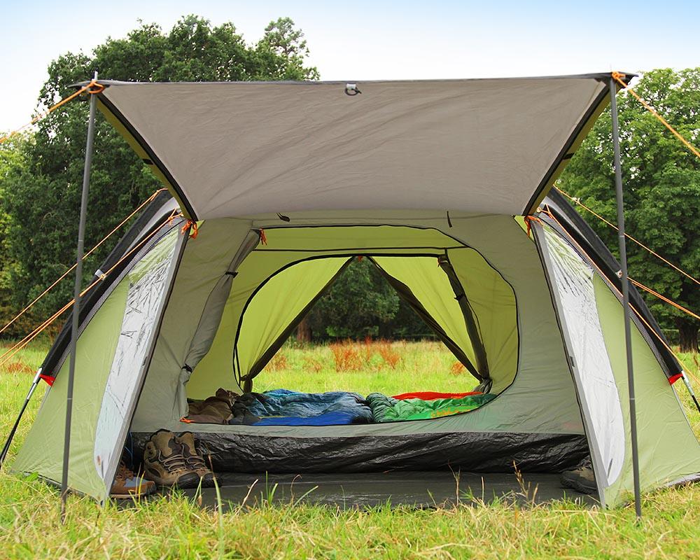 Отворена изцяло палатка Coleman Hayden 4