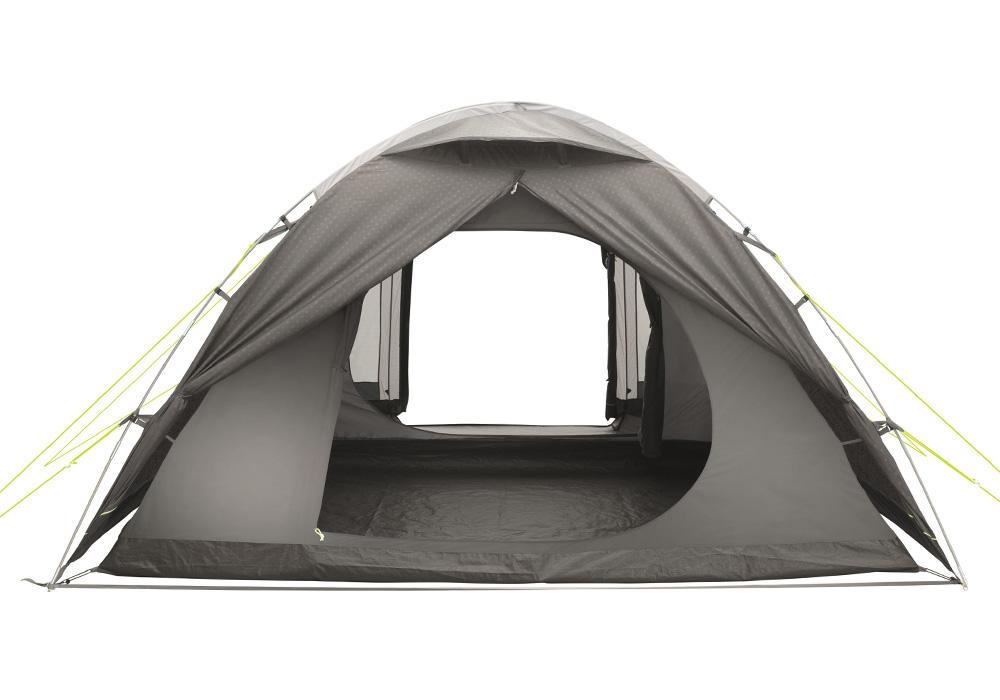 Двата входа отворени петместна палатка Outwell Haze 5