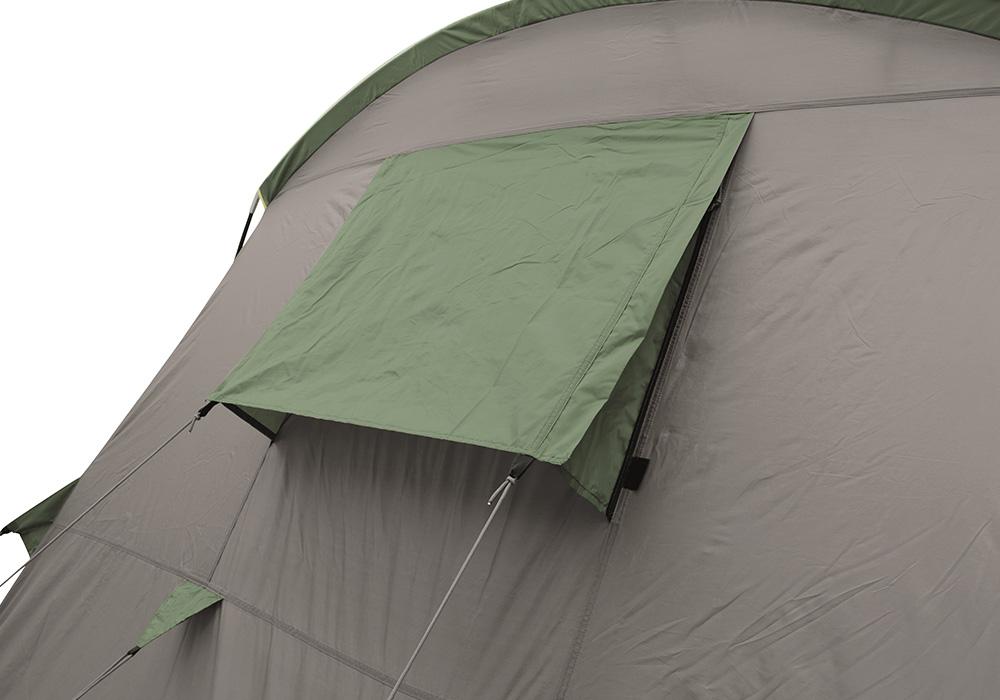 Вентилаципнни отвори на спалните помещения на четириместна палатка Easy Camp Huntsville 400 2018
