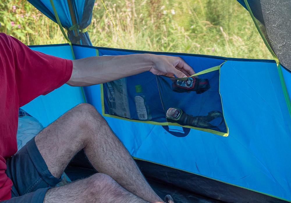 Джобове на триместна палатка Coleman OctaGo 3 2020